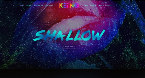 KEiiNOs new website, Shallow, Spirit in the sky,